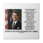 Los americanos de Ronald Reagan quieren al Azulejos Ceramicos