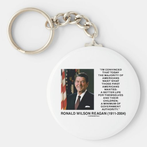 Los americanos de Ronald Reagan quieren al Llavero