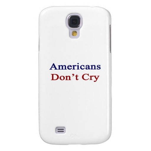 Los americanos no lloran funda para galaxy s4