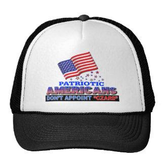 Los americanos patrióticos no designan a zares gorra