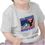 Los americanos reales defienden Israel Camisetas