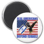 Los americanos reales defienden Israel Iman Para Frigorífico