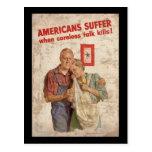 Los americanos sufren cuando las matanzas descuida postales