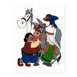Los AMIGOS del Don Quijote - 400 años - Cervantes Tarjeta Postal