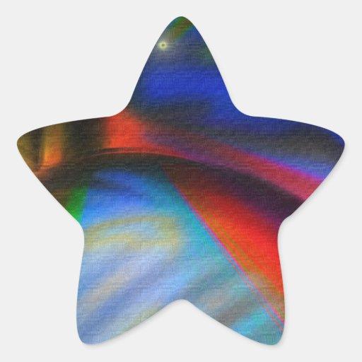 Los amigos estupendos unen pegatina en forma de estrella