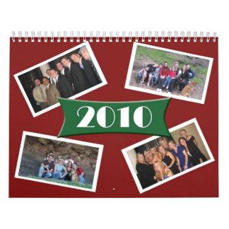 Los amigos hacen calendarios 2010