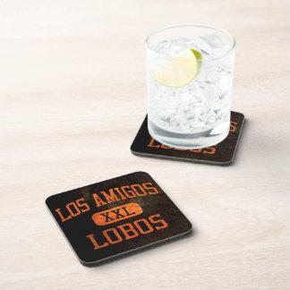 Los Amigos Lobos Athletics Beverage Coaster