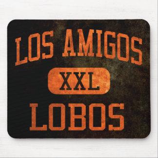 Los Amigos Lobos Athletics Mouse Pad