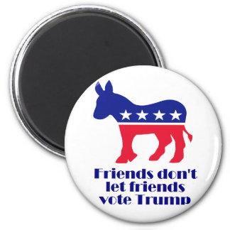 Los amigos no dejan el imán del triunfo del voto