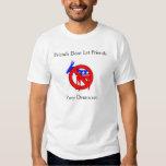 Los amigos no dejan el voto Demócrata de los Camisas