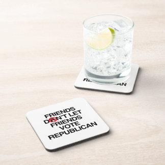 Los AMIGOS NO DEJAN el VOTO REPUBLICAN.png de los  Posavasos De Bebida