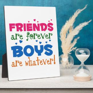 Los amigos son Forever Placas Con Fotos