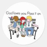 Los amores de dios usted lo pasa en revisado etiquetas