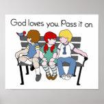 Los amores de dios usted lo pasa encendido impresiones
