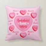 Los amores de la abuela personalizados almohada