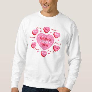 Los amores de la abuela personalizaron la camiseta suéter