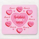 Los amores de la abuela personalizaron Mousepad