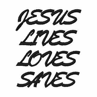 LOS AMORES DE LAS VIDAS DE JESÚS AHORRAN CAMISETA POLO