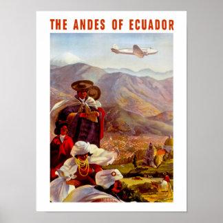Los Andes de Ecuador Impresiones