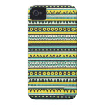 Los Andes tribales iPhone 4 Case-Mate Protectores