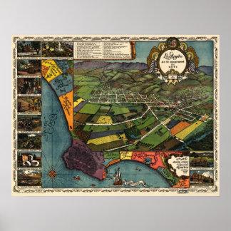 Los Ángeles - 1871 (Gore) BigMapBlog Impresiones