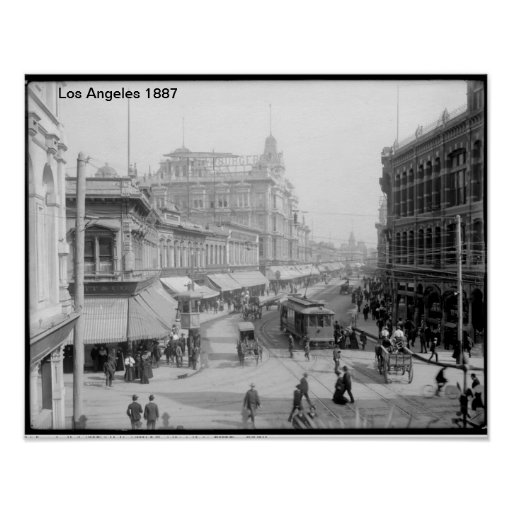 Los Angeles 1887 Poster