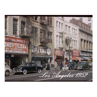 Los Angeles 1952 Postcard