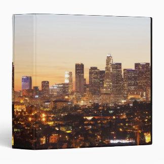 Los Angeles 3 Ring Binder