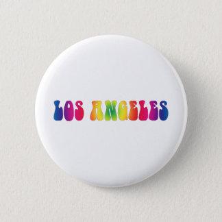 Los Angeles 60's Tie Dye Pinback Button