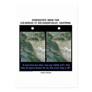 Los Ángeles a San Joaquin Valley, California Postales