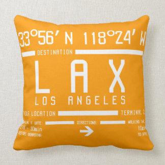 Los Angeles Airport Code Throw Pillow