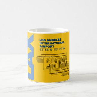 Los Angeles Airport (LAX) Diagram Mug