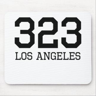 Los Angeles Area Code 323 Mousepad
