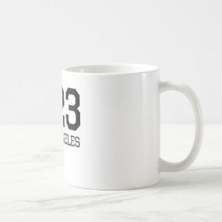 Los Angeles Area Code 323 Coffee Mug