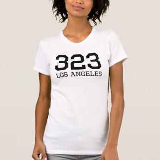 Los Angeles Area Code 323 Tanktop