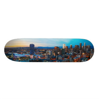 Los Angeles At Dusk Skateboard Deck