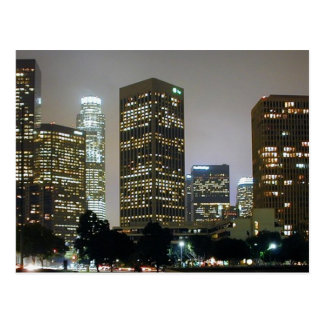 Los Angeles At Night Postcards