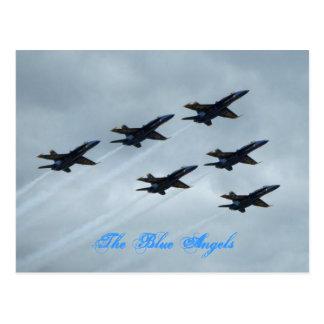 Los ángeles azules tarjetas postales