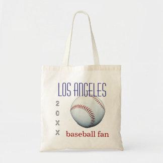 Los Angeles Baseball Fan Tote Bag