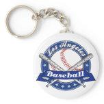 Los Angeles Baseball Key Chains