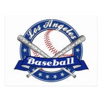 Los Angeles Baseball Postcard