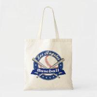 Los Angeles Baseball Tote Bag