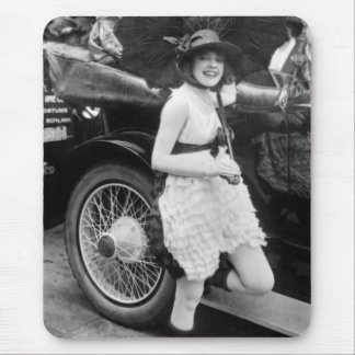 Los Angeles Bather, early 1900s Mouse Pad