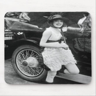 Los Angeles Bather, early 1900s Mouse Pads