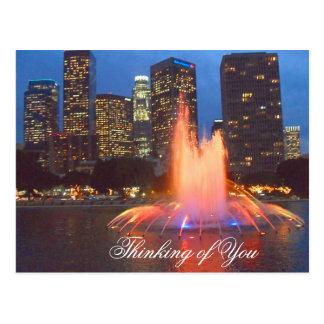 Los Angeles beauty_ Postcard