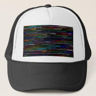 Los Angeles Black Background Hat