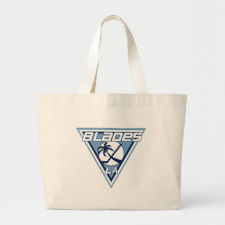 Los Angeles Blades Ice Hockey Team Logo Tote Bag