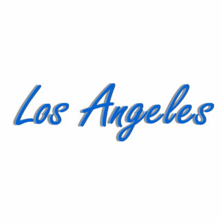 Los Angeles Blue and Gray Statuette