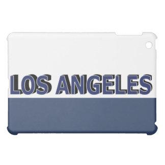 Los Angeles Blue & White iPad Case