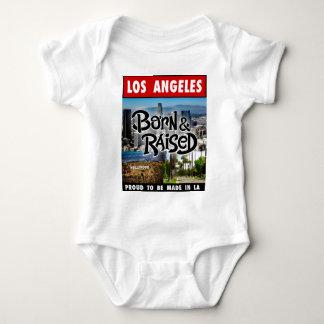 Los Angeles  Born & Raised Baby Bodysuit